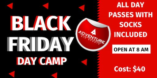 Black Friday Day Camp