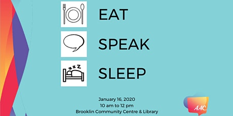 Eat Speak Sleep Seminar tickets