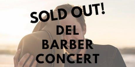 Del Barber Concert tickets