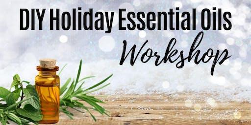 DIY Holiday Essential Oils Workshop