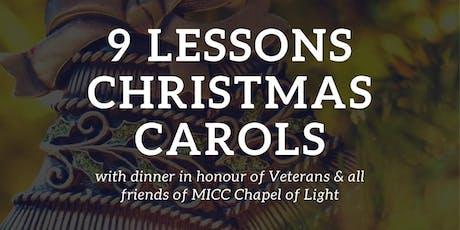 Nine Lessons & Christmas Carols tickets