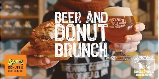 Beer & Donut Brunch December 8th at Junkyard Brewing Co.