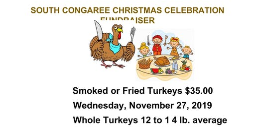 South Congaree Turkey Cooking for Thanksgiving. Fried or Smoked Turkeys!