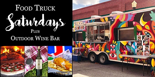 Food Truck Saturdays at the Winery