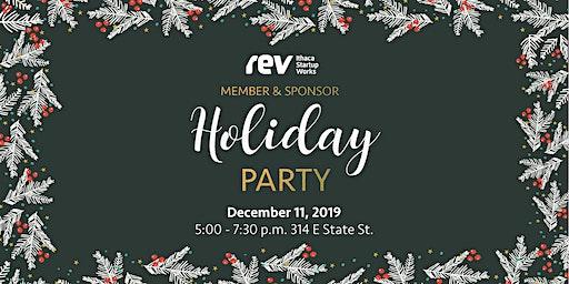 Rev Member & Sponsor Holiday Party