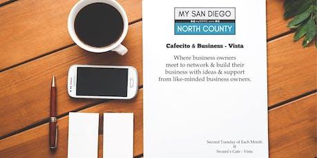 Cafecito & Business Vista -  Third Tuesday January tickets