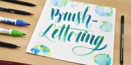Brush-Lettering und wie es funktioniert! tickets