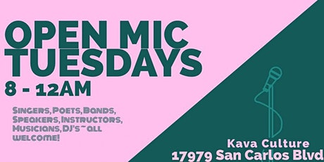 Kava Culture Fort Myers Beach Open Mic & Jam Night tickets