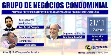 21-11 Grupo de negócios Condominial ingressos