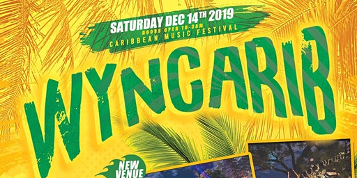 THIS SATURDAY! WYNCARIB | NEW VENUE | SAT DEC 14th | SOUND BITES