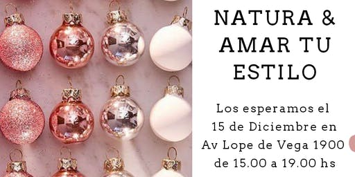 Showroom Navidad Natura & Amar Tu Estilo