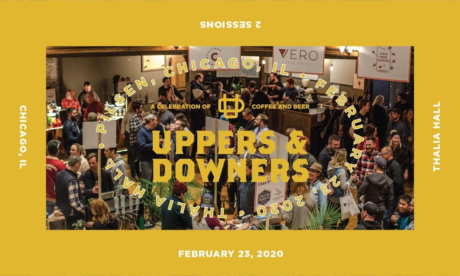 Events In Chicago February 2020.Uppers Downers 2020 Thalia Hall