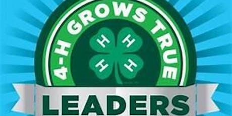 Dane County 4-H VIP Leader Training - January, 2020 tickets