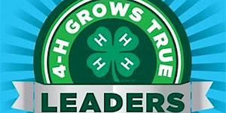 Dane County 4-H VIP Leader Training - January, 2020 tickets