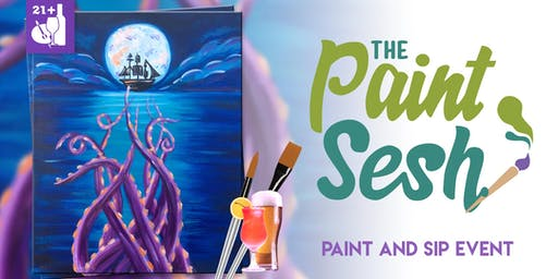 Paint and Sip in Downtown Riverside, CA - What's Kracken