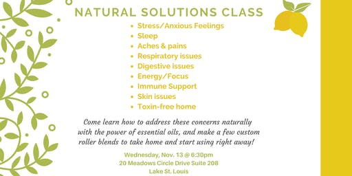 Essential Oils Class and Make & Take Workshop