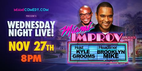 Wednesday Night Live | Thanksgiving Eve | Miami Improv tickets