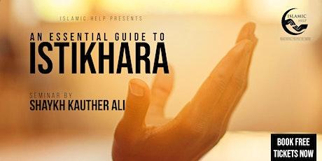 Istikhara - An Essential Guide tickets