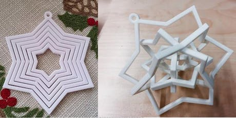 3D Printed Ornament tickets