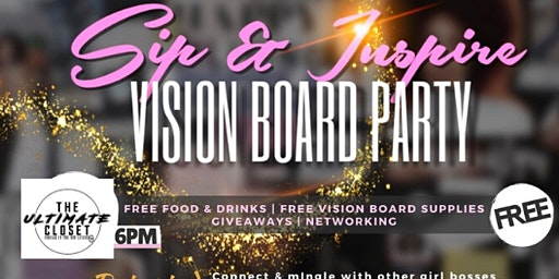 Manifestations & Mimosas|The Ultimate 20/20 Vision Board POPUP Pajama Party