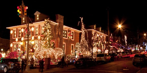 Dyker Heights Holiday Lights Photo Walk with Focus Camera & Sony
