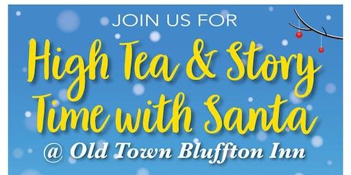 High Tea with Santa at Old Town Bluffton Inn