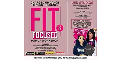 Charged Up Dance: Fit and Focused Pop Up Workshop (Atlanta)
