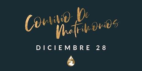 Convivio De Matrimonios Iglesia RAVSB boletos