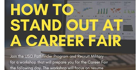 How to Stand Out at a Career Fair! tickets