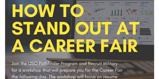 How to Stand Out at a Career Fair!