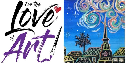Paint and Sip Class: Starry Charleston