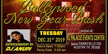 Bollywood New Year Party 2020 tickets