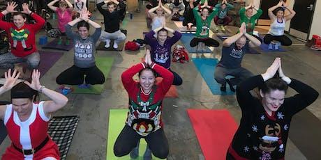 Holiday Yoga at Rocket Frog Brewing tickets