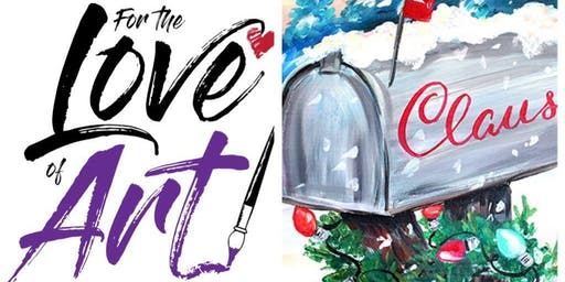 Paint and Sip Class: Letter to Santa