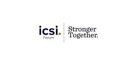 ICSI Forum 2020 tickets