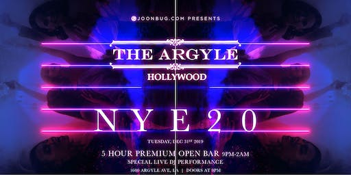 The Argyle New Years Eve 2020 Party