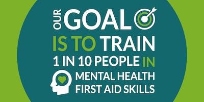 Mental Health First Aid - Champion training - 1 day - Taunton, Somerset