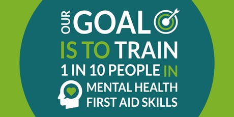 Mental Health First Aid - Champion training - 1 day - Taunton, Somerset tickets