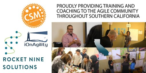 Certified Scrum Master Training (CSM) Orange County, CA Feb 2020