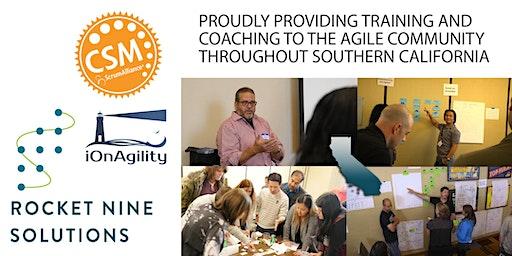 Certified Scrum Master Training (CSM) Orange County, CA Feb 2020