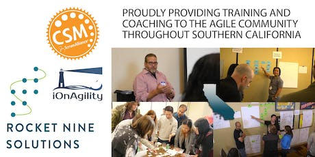 Certified Scrum Master Training (CSM) Los Angeles May 2020 tickets
