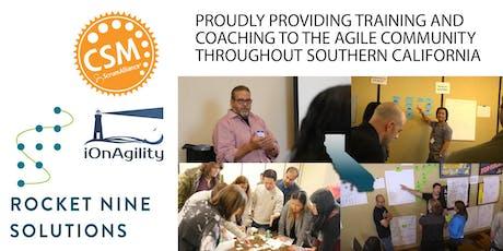 Certified Scrum Master Training (CSM) San Diego - June 2020 tickets