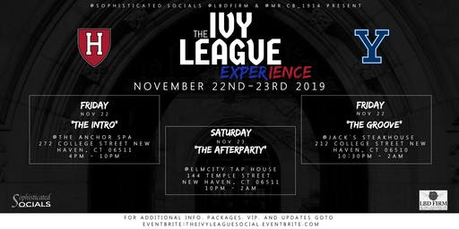 "THE IVY LEAGUE | Yale vs. Harvard ""After Party"""