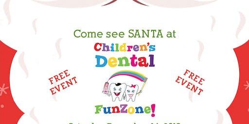 Santa's at Children's Dental FunZone