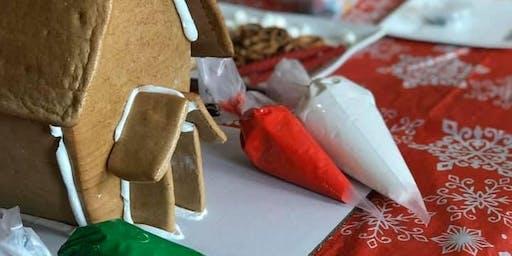 12/1/19- Gingerbread House Workshop