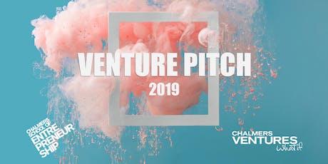 Venture Pitch 2019 tickets