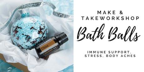 Bath Salts with Essential Oils - Make & Take Workshop tickets