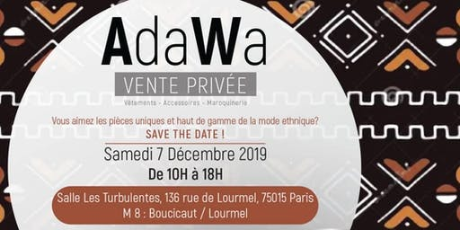 Vente Privée AdaWa