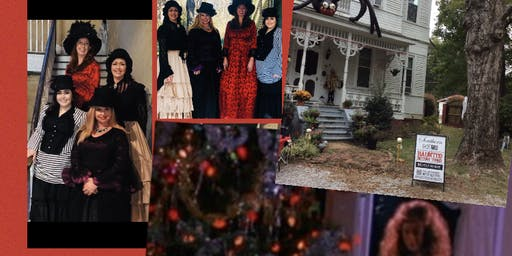 Oxford, Al. Victorian Christmas Ghost Investigation 1880 Haunted Home