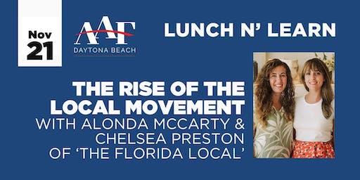 November 21 - AAF Daytona Beach Lunch N' Learn
